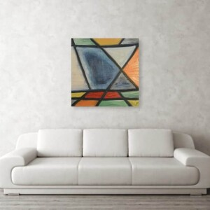 Stain glass, Oil Painting, Anita Louise Art