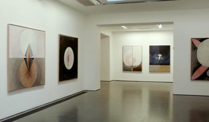 Hilma af Klint Work On Display at Guggenheim Museum in New York City,.