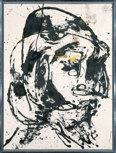 Number 7 by Jackson Pollock (1952)
