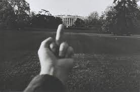 Ai Wei Wei Gives finger to white house